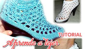 Zapatos Elegantes a Crochet / Tutorial