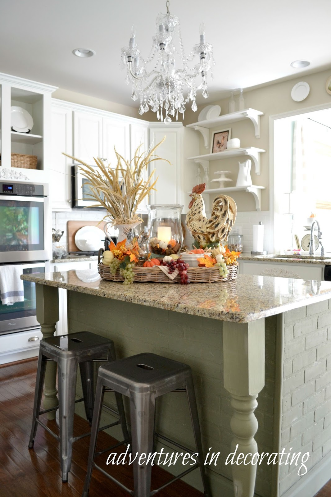 Adventures in Decorating Our 2015 Fall Kitchen
