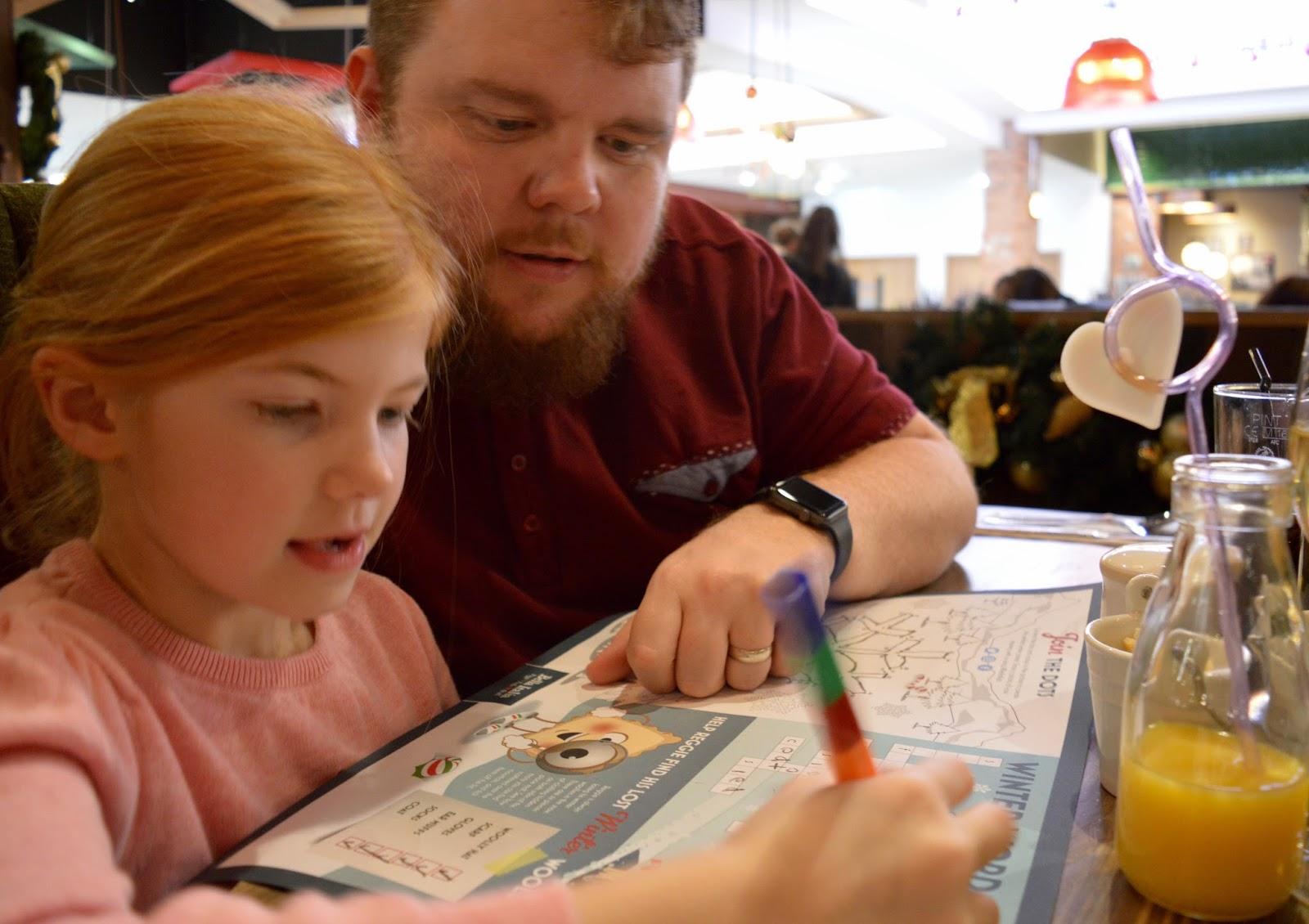 Bella Italia at intu Eldon Square Newcastle | Children's Menu Review - kids crossword