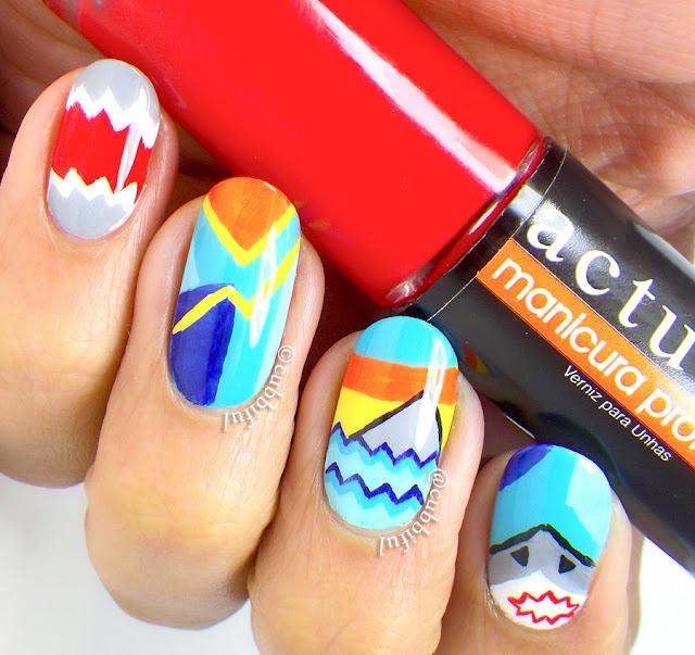 shark nails