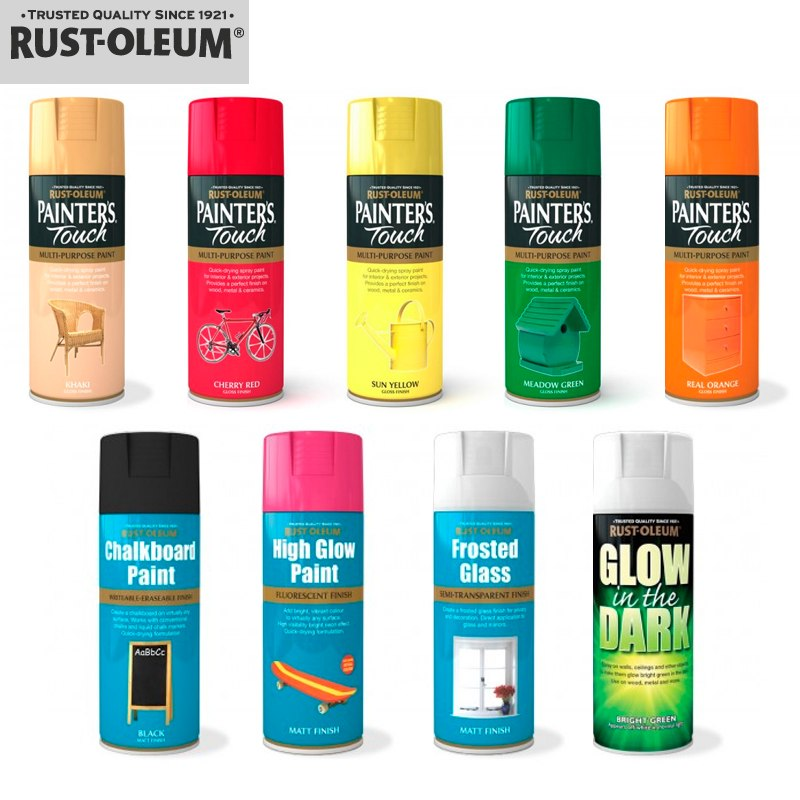 Rust oleum spray paints that decorative touch - Rust oleum glow in the dark exterior paint ...