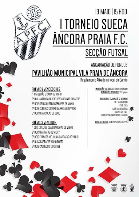 1º Torneio de Sueca do Ancora Praia F.C (futsal)
