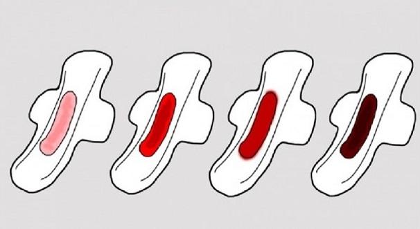 WANITA WAJIB TAHU: Warna Dan Kuantiti Darah Haid Melambangkan Tahap Kesihatan Tubuh Badan Anda!!!