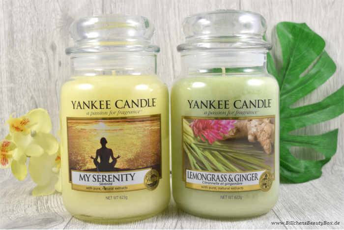 Yankee Candle My Serenity Lemongrass Ginger Review