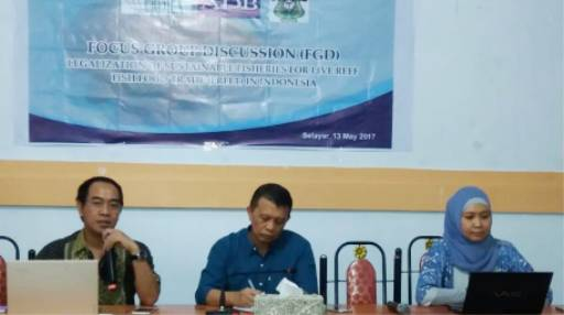 FGD Tentang Perdagangan Ikan Karang Hidup, Di Selayar