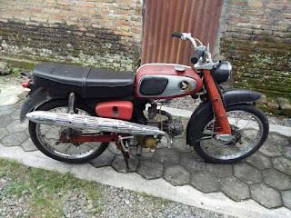 Honda Rare Item , S65 Original Cet 1964