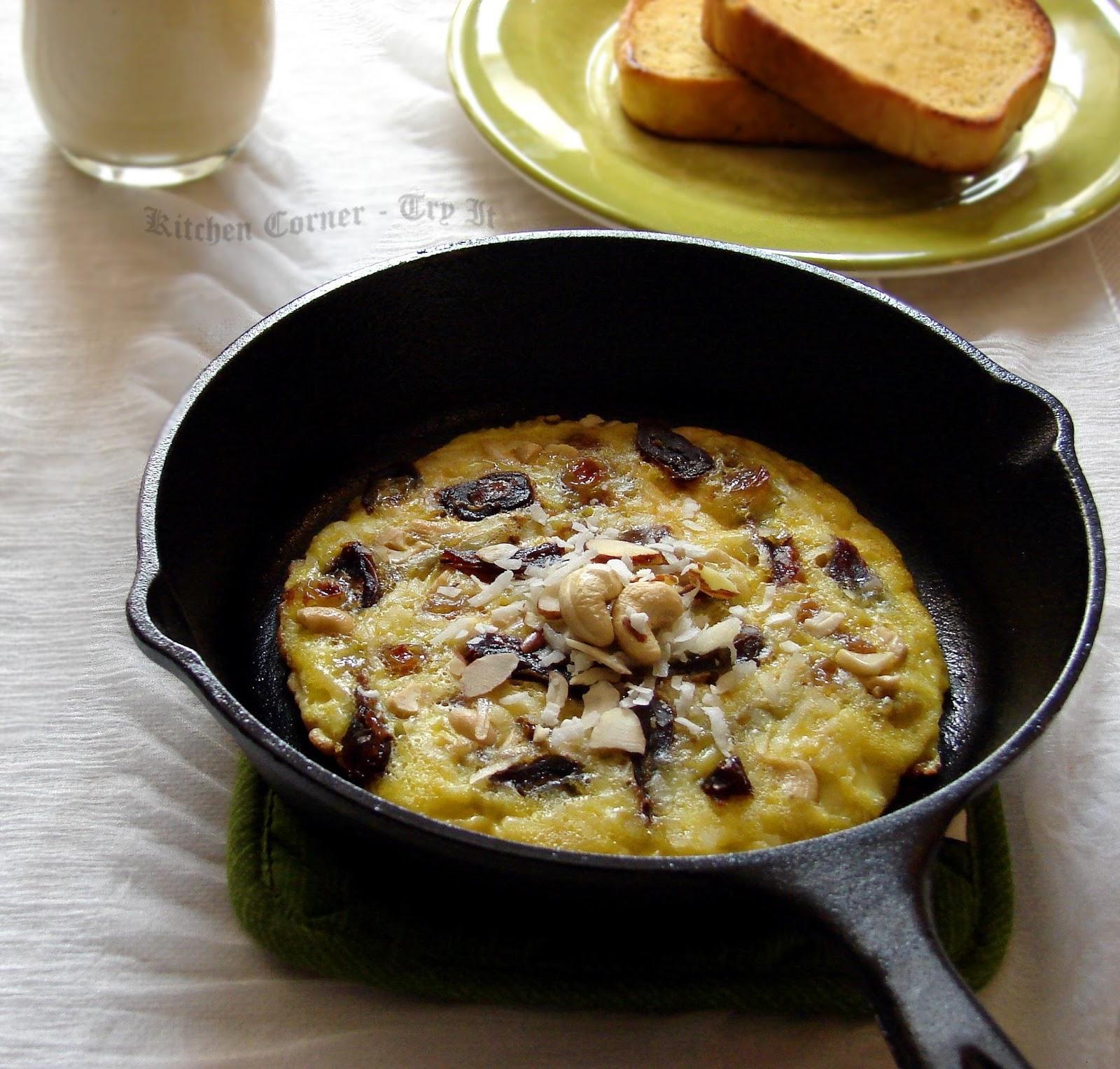 Sweet Breakfast Omelet