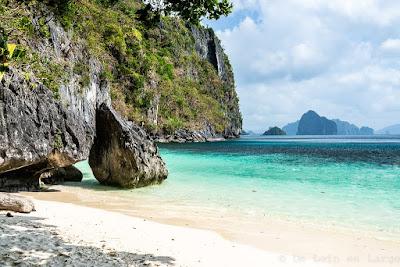 Papaya-beach-Bacuit-Corong-Corong-El-Nido-Palawan-Philippines