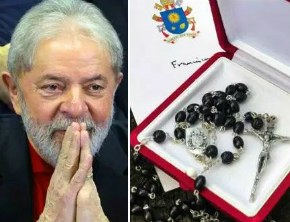 Vaticano desmente PT e diz que papa não enviou terço a Lula; saiba mais