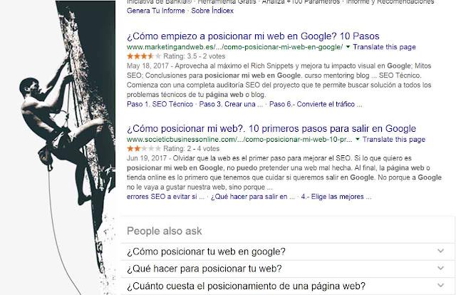 ¿Cómo puedo hacer que mi web aparezca en Google?