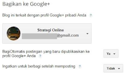 Cara berbagi postingan artikel blog secara otomatis di google plus