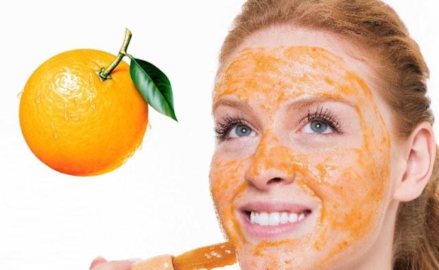 Carahkan Wajah Menggunakan Masker Kulit Jeruk, cara membuat masker kulit jeruk