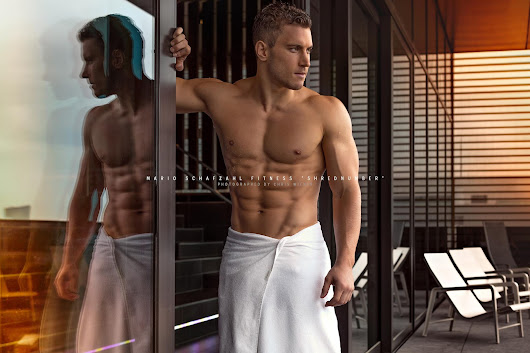 Men in White Towels Part 1