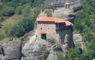 Monasterio de San Nicolás de Anapausas o Àgios Nikólaos.