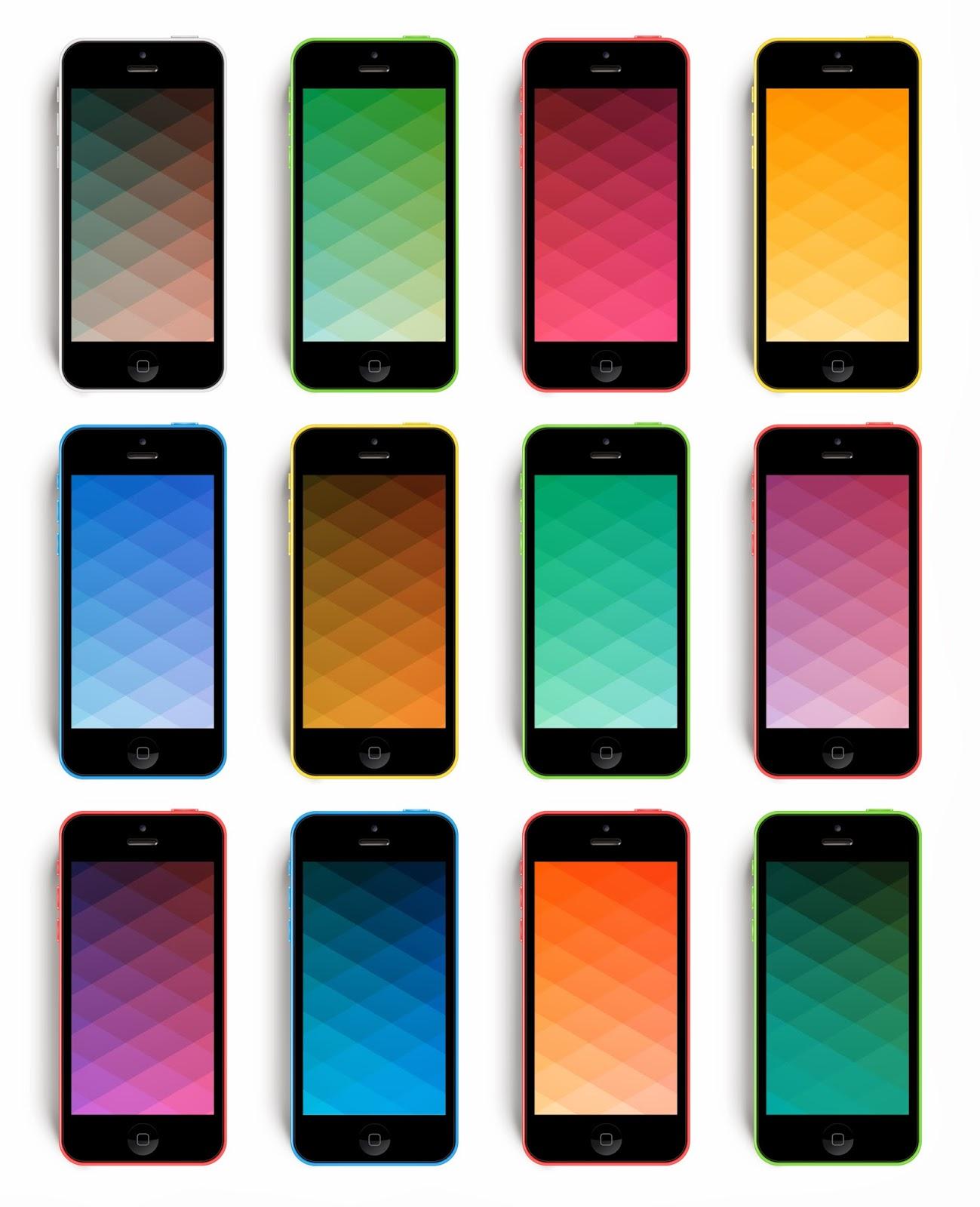 TODAYSHYPE: WALLPAPER: Gradient IPhone 5c & 5s Wallpaper