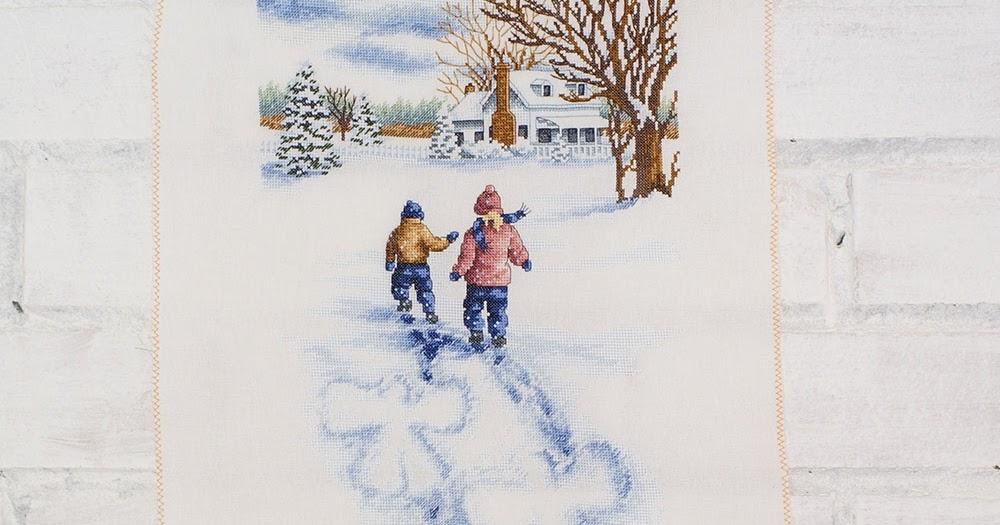 Снежный барс вышивка крестом дименшенс