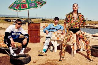 Filip Hrivnak, Julian Schneyder & Bella Hadid for Vogue Japan