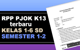 Geveducation: Download kumpulan RPP PJOK K13 Revisi 2017 2018 2019 Semester 1 dan 2