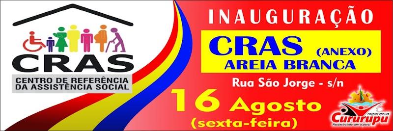 Será inaugura nesta sexta-feira o anexo do CRAS em Areia Branca.