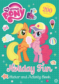 MLP Holiday Fun Sticker and Activity Book Book Media