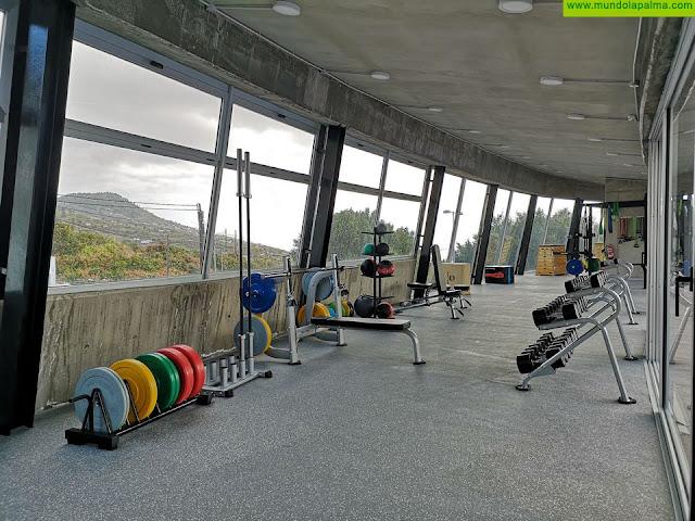 El Cabildo de La Palma reabre el gimnasio de la Ciudad Deportiva de Miraflores