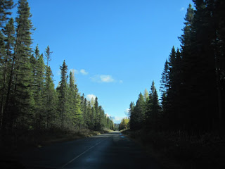 Lake Opeongo Road.