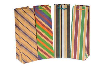 Papierowe torby ozdobne