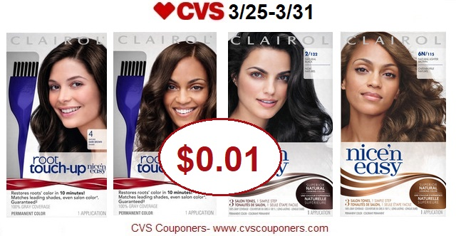 http://www.cvscouponers.com/2018/03/hot-pay-001-for-clairol-nice-n-easy-and.html