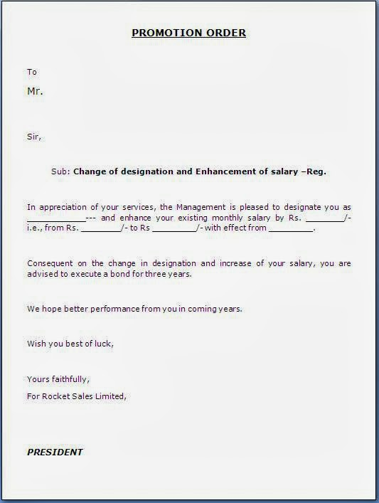 Request Letter Promotion Job – Salary Increase Request Sample Letter