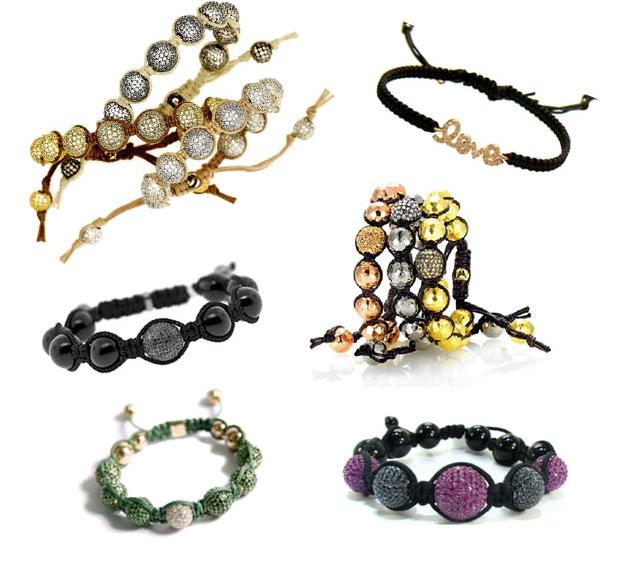 Como fazer pulseiras shambala  ou macramê - Tutorial, vídeo, fotos e modelos