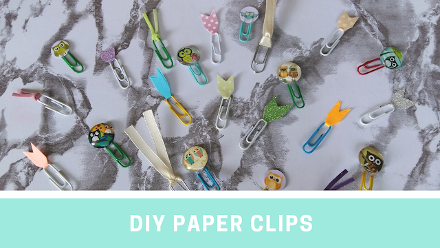 DIY PAPER CLIPS
