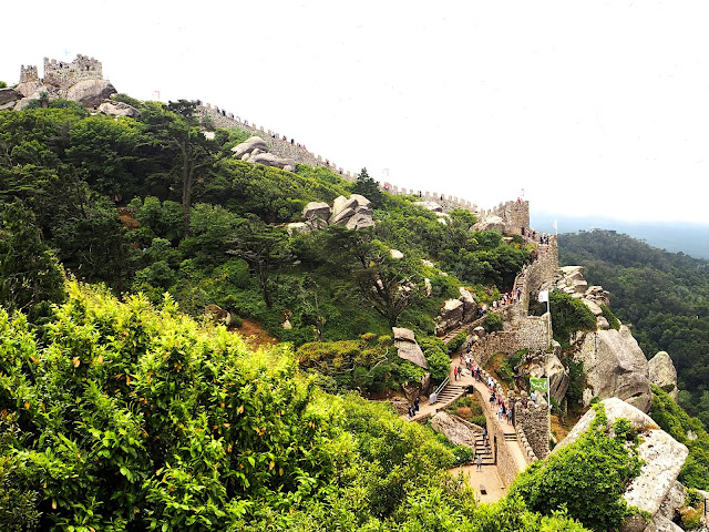 A Day Trip Out of Lisbon to Sintra, Portugal