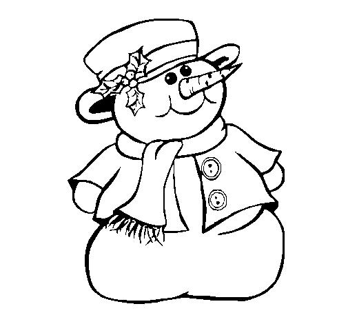 Baú Da Web: Desenhos De Boneco De Neve Para Colorir