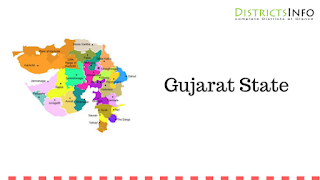 Gujarat State with Districts