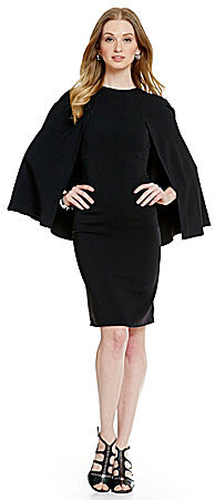 a60fc6798b4 Women s Fashion by Antonio Melani  Antonio Melani Spiro Crepe Cape ...