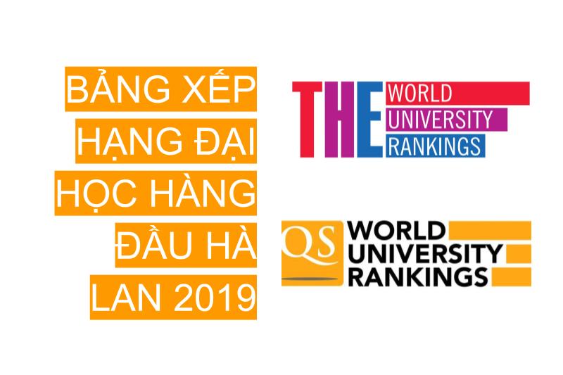 Xếp hạng các trường đại học Hà Lan 2019