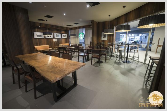 Espacios de trabajo - DECO - Tipos de lugares de trabajo - Starbucks para trabajar desde un bar con onda -  sucursal Alto Palermo - foto by Maleva - post Stylistinaction