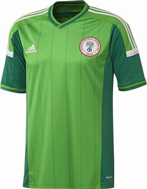 2b9f54c39c Adidas divulga camisas da Nigéria para a Copa do Mundo - Testando ...