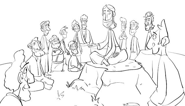 Sunday School Sketches: January 2013