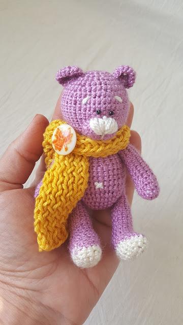медвежонок#амигуруми#