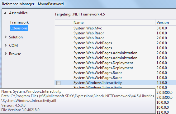 chriga's blog: WPF and MVVM - Events