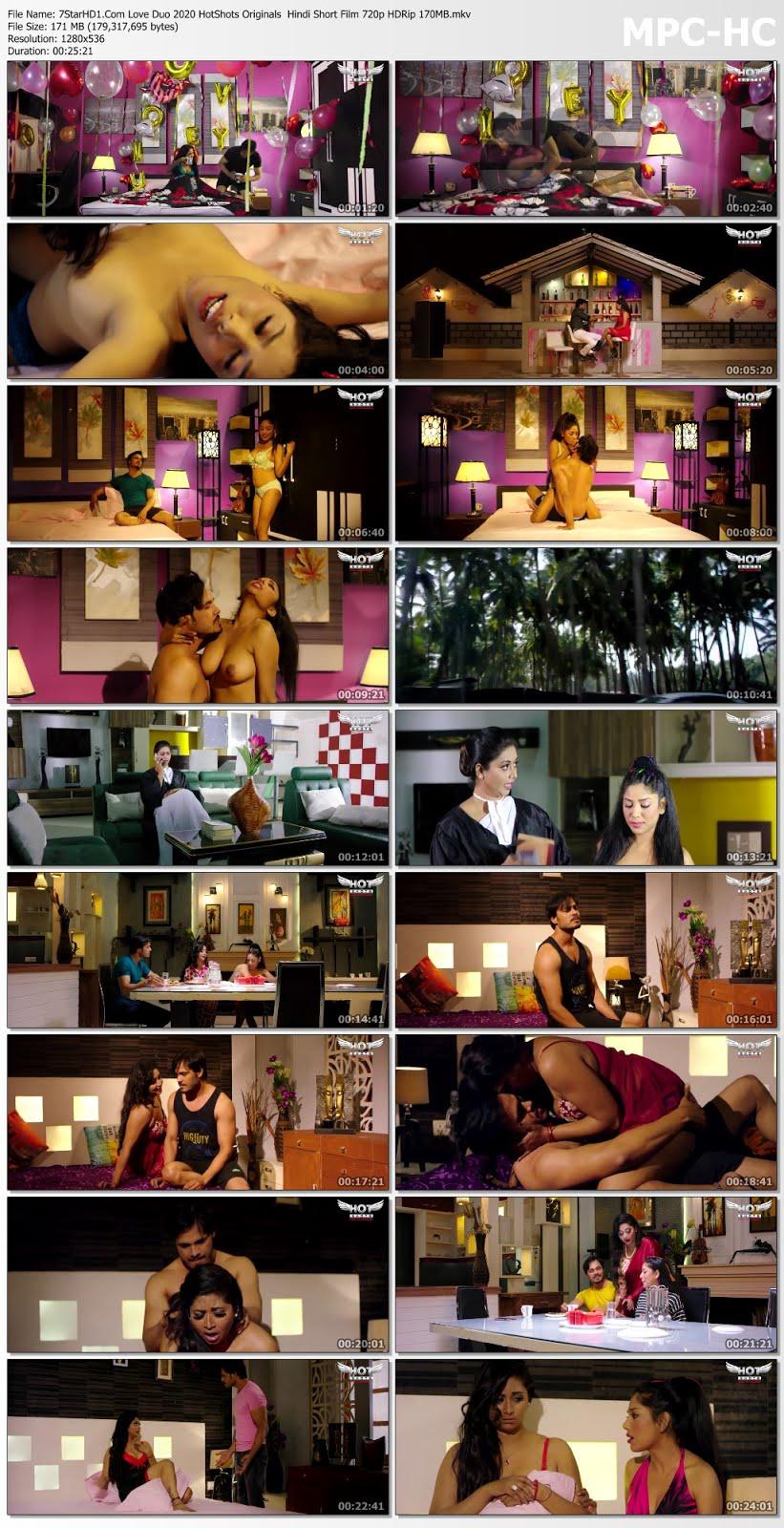 Love Duo 2020 HotShots Originals Hindi Short Film 720p HDRip ...