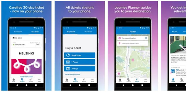 Download HSL - Tickets, route planner and information Mobile App