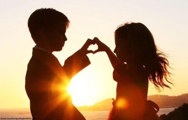 Những câu nói tiếng Anh hay và ý nghĩa về tình yêu
