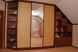 Использование встроенной мебели в современном интерьере