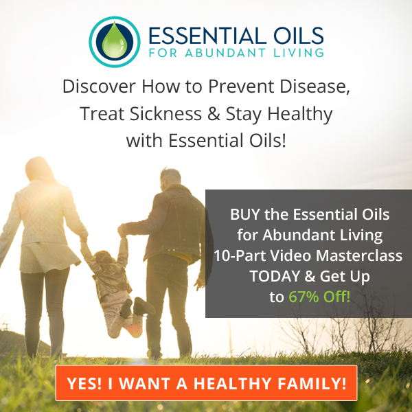 Essential Oils For Abundant Living Masterclass Buy Now