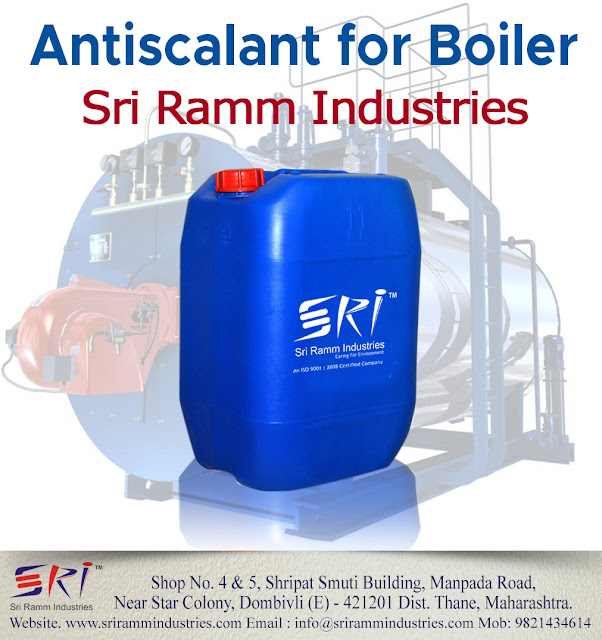 Antiscalant for boiler