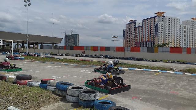 Main Gokart di Lamtoro Karting Revo Town