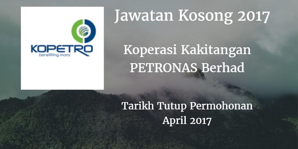 Jawatan Kosong KOPETRO April 2017