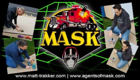 Watch Our M.A.S.K. Toy Commercial (With Outtakes!)
